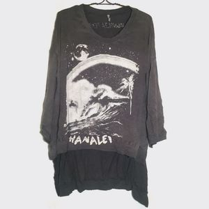 New magnolia pearl Hanalei francis pullover ozzy T